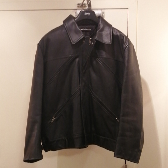 DKNY JEANS Leather Jacket